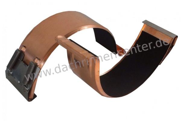 Pytoflex Dachrinnenschellen aus Kupfer